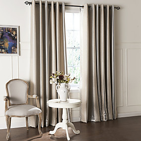 cheap Curtains & Drapes-Custom Made Blackout Curtains Drapes Two Panels  / Embossed / Living Room