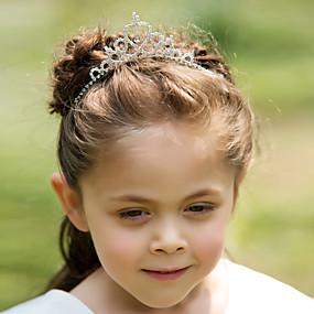 preiswerte One One Bridal®-Strass / Aleación Tiaras / Stirnbänder / Kopfbedeckung mit Blumig 1pc Hochzeit / Besondere Anlässe Kopfschmuck