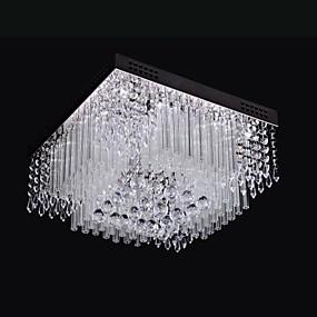 preiswerte Haus & Garten Ausverkauf-SL® Einbauleuchten Raumbeleuchtung Chrom Metall Kristall, LED 110-120V / 220-240V Wärm Weiß / Weiß / integrierte LED