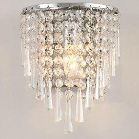 povoljno Lámpatestek-LightMyself™ Crystal Modern / Comtemporary Stambeni prostor zidna svjetiljka 110-120V / 220-240V 3 W