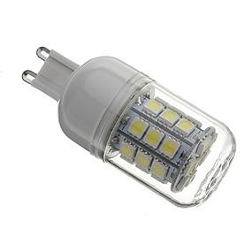 cheap LED Bi-pin Lights-LED Corn Lights 5500 lm G9 T 30 LED Beads SMD 5050 Natural White 220-240 V 110-130 V