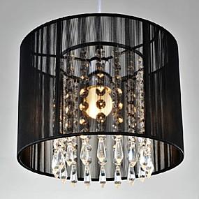 povoljno Lámpatestek-Bubanj Privjesak Svjetla Downlight Chrome Metal Crystal, LED 110-120V / 220-240V Meleg fehér / Hladno bijela Bulb not included / E26 / E27