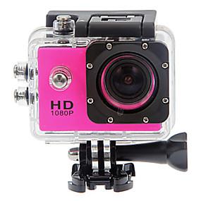 preiswerte Sports & Outdoors-SJ4000 Action Kamera / Sport-Kamera GoPro Vlogging Wasserfest / Anti-Shock / Alles in Einem 32 GB 12 mp 4000 x 3000 Pixel Tauchen / Surfen / Universal 1.5 Zoll CMOS 30 m