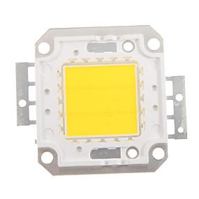 billige Lamper og belysning-zdm diy 20w 1600-2000lm varm hvit / kald hvit / naturlig hvitt lys integrert ledermodul (dc33-35v 0.5-0.6a) gatelampe for å projisere lett gullveis sveising av kobberbrakett