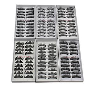 cheap Makeup Tools & Accessories-Eyelash Extensions False Eyelashes 120 pcs Volumized / Natural / Thick Eyelash Makeup Cosmetic
