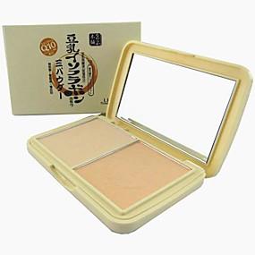 preiswerte LIDEAL-3 Farben Puder Gepresstes Puder Trocken / Schimmer Gesicht Bilden Kosmetikum
