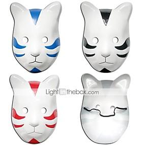 preiswerte Leisure-Maske Inspiriert von Naruto Cosplay Anime Cosplay Accessoires Maske PVC Herrn Damen heiß Halloweenkostüm