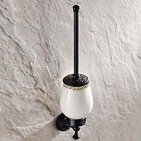 preiswerte Toilettenbürstenhalter-WC-Bürstenhalter Abziehbar Antike Messing 1 Stück - Hotelbad