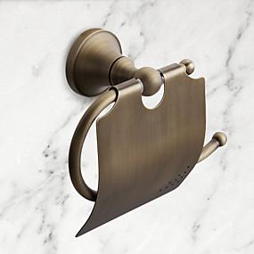 preiswerte Accessoires für das Bad-WC-Rollenhalter Gute Qualität Antike Messing 1 Stück - Hotelbad