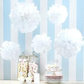 preiswerte Seidenpapier Blumen-Seidenpapier Dekoration Perlenpapier 4.0 Weihnachten / Strand / Garten / Las Vegas / Asiatisch / Blumen