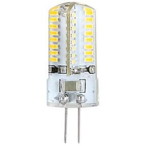 preiswerte Ausverkauf-YWXLIGHT® 1pc 3 W LED Doppel-Pin Leuchten 300 lm G4 T 64 LED-Perlen SMD 3014 Warmes Weiß 100-240 V 3 V