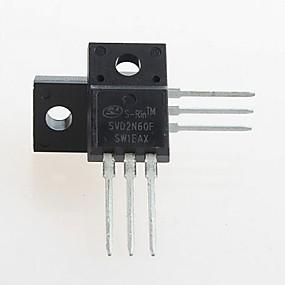 preiswerte Zubehör-fqpf2n60c 2n60c MOSFET N-ch 600v 2a bis-220 (5 Stück)