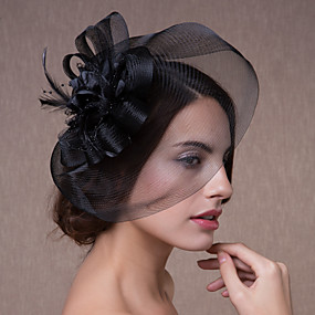povoljno Melbourne Cup Carnival Hats-Kristal / Tekstil / Organza tijare / Fascinators / Cvijeće s 1 Vjenčanje / Zabava / večer / Čajanka Glava