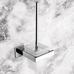 preiswerte Toilettenbürstenhalter-WC-Bürstenhalter Gute Qualität Moderne Edelstahl Keramik 1 Stück - Hotelbad