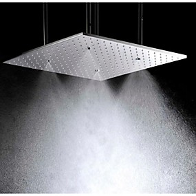 preiswerte Duschköpfe-Moderne Regendusche Gebürstet Eigenschaft - Regenfall, Duschkopf