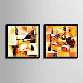 preiswerte Art-Gerahmtes Leinenbild Gerahmtes Set Fantasie Wandkunst, PVC Stoff Mit Feld Haus Dekoration Rand Kunst Wohnzimmer Schlafzimmer Küche