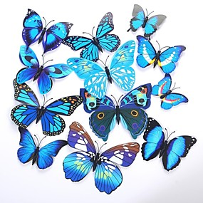 cheap Gifts & Decorations-Unique Wedding Décor PVC(PolyVinyl Chloride) / Mixed Material Wedding Decorations Wedding Party Butterfly Theme / Classic Theme All Seasons