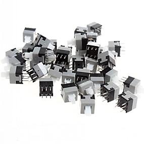 cheap Switches-8.5 x 8.5mm 6-pin Self-locking Switch / Key Switch (50 PCS)