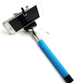 preiswerte Handys & Elektronik-selfie stick bluetooth, ausziehbares Einbeinstativ eingebauter bluetooth-fernauslöser kompatibel mit iphone xs / xs max / xr / x / 8 / 8p / 7 / 7p / 6s / 6/5, galaxy s9 / 8/7/6 / note, nubia , huawei