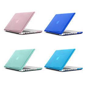 cheap Phones & Accessories-MacBook Case Solid Colored / Transparent Plastic for Macbook Pro 13-inch / Macbook Pro 15-inch