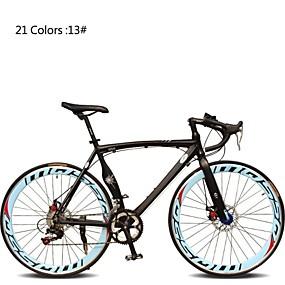 preiswerte Cycling Clearance-Rennräder Radsport 7 Geschwindigkeit 26 Zoll / 700CC SHIMANO TX30 Doppelte Scheibenbremsen Ordinär Monocoque - Rahmen gewöhnlich Aluminiumlegierung
