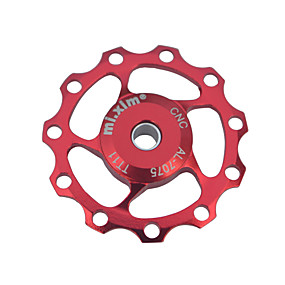 preiswerte Schaltwerke-Fahhrad Schaltwerke Fahrradführungsrad Radfahren Langlebig Für Radsport Rennrad Geländerad Aluminum Alloy Rot Blau Golden