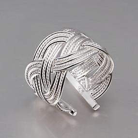 billige Vintage Ring-Vintage / Søtt / Fest / Kontor / Fritid Sterlingsølv Justerbar ring