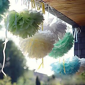 preiswerte Seidenpapier Blumen-Seidenpapier Dekoration Perlenpapier / Fasergemisch Hochzeits-Dekorationen Hochzeitsfeier Strand / Garten / Blumen Frühling / Sommer / Herbst