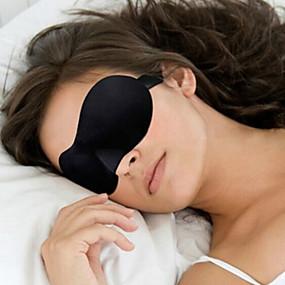 cheap Travel Comfort-Travel Eye Mask / Sleep Mask Adjustable Portable 3D Breathability Seamless 1 set Traveling Sponge