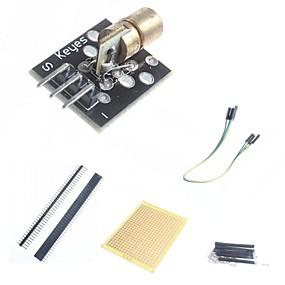 preiswerte Sensoren-diy 650nm Laser-Sensor-Modul und Zubehör für die Arduino