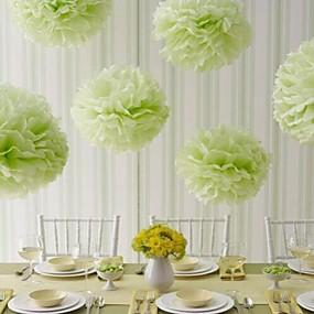 preiswerte Seidenpapier Blumen-Seidenpapier Dekoration Fasergemisch Hochzeits-Dekorationen Hochzeit / Party / Hochzeitsfeier Blumen / Klassisch Ganzjährig
