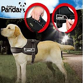 preiswerte Hundehalsbänder & Leinen-Hund Geschirre Gefüttert Regolabile / Einziehbar Nylon Schwarz Rot Tarnfarbe