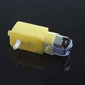 preiswerte Motoren & Zubehör-dc3v-6v dc getriebemotor tt motor smart auto roboter getriebemotor für arduino