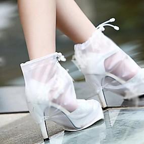 preiswerte Schuh Cover-2pcs Gel Schuh Abdeckungen Damen Ganzjährig Normal Weiß