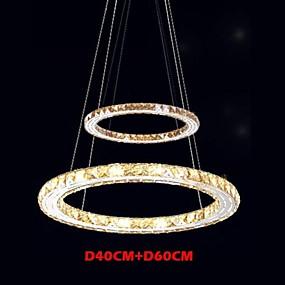 povoljno Lámpatestek-Lusteri Ambient Light Electroplated Metal Crystal, LED 110-120V / 220-240V Meleg fehér / Hladno bijela Uključen je LED izvor svjetlosti / Integrirano LED svjetlo / 4-pin