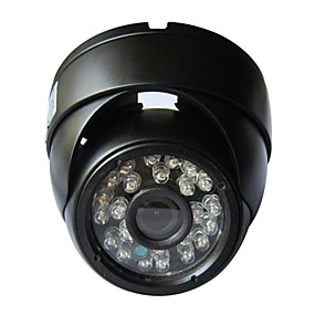 cheap Outdoor IP Network Cameras-Dome Outdoor IP Camera 720P Email Alarm Night Vision Motion Detection P2P 1/4 Inch Color CMOS Sensor Security Camera Waterproof Plug and Play IR-cut Remote Access Dual Stream