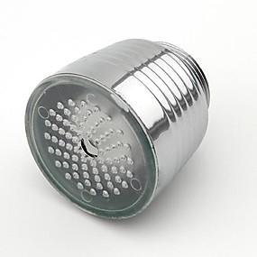 preiswerte Duschköpfe-leuchtenden glow-up-led-wasserhahn wasserhahn duschkopf wasser düse kopf licht bad küchenarmaturen