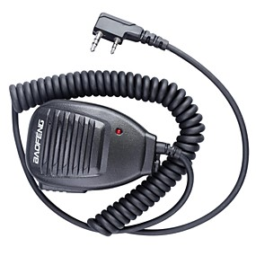 preiswerte Schutz & Sicherheit-baofeng 5r-mic intercom mikrofon professionelle qualität einzigartiges design walkie talkie handmikrofon anwendbar auto hotel supermarkt kabel angeschlossen
