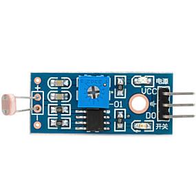 preiswerte Premium Electronics,  Up To 87% Off-1-Wege-Fotowiderstand-Sensor-Modul für Arduino (funktioniert mit offiziellen Arduino-Boards)