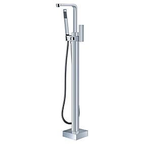 preiswerte Armaturen-Badewannenarmaturen - Moderne Chrom Keramisches Ventil Bath Shower Mixer Taps
