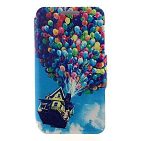 povoljno Maske za mobitele-Θήκη Za Samsung Galaxy A8 / A7 / A5 Utor za kartice / sa stalkom / Zaokret Korice Balloon PU koža