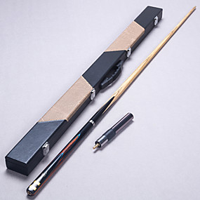preiswerte Sport & Outdoor-Cue Sticks & Zubehör Snooker Holz Dreiviertelzweiteilige Cue
