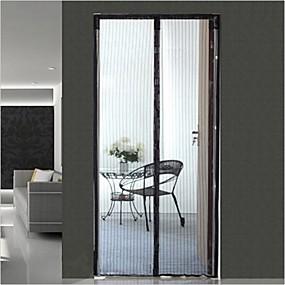 preiswerte Vorhänge und Gardinen-Fertig Umweltfreundlich Türverkleidung Gardinen Vorhänge zwei Panele 210cm * 100cm / Schlafzimmer