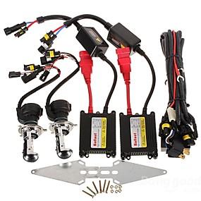 preiswerte Auto Lampen-2pcs H4 Auto Leuchtbirnen 35W 3200lm HID Xenon Scheinwerfer For Honda / Toyota