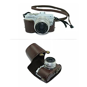 preiswerte Camera Bags & Cases-dengpin® Schutz abnehmbares Leder Kamera Tasche Abdeckung mit Schultergurt für Olympus E-PL7 (verschiedene Farben)