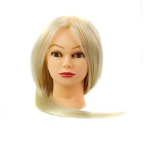 preiswerte Werkzeuge & Zubehör-Kunst Friseursalon weibliche Schaufensterpuppe Kopf mit Make-up