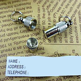 preiswerte Hundehalsbänder & Leinen-Katze Hund Schilder Sicherheit Solide Aluminium Weiß / Silber