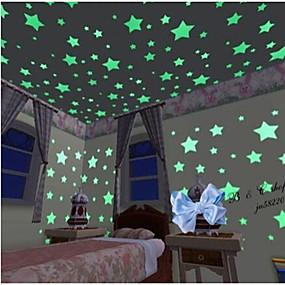 preiswerte Haus & Garten-Formen Wand-Sticker Leuchtende Wand Sticker Dekorative Wand Sticker, Vinyl Haus Dekoration Wandtattoo Wand