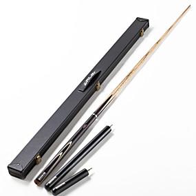 preiswerte Sport & Outdoor-Cue Sticks & Zubehör Snooker Holz Dreiviertelzweiteilige Cue Weiß