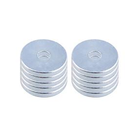 preiswerte Magnetische Spielsachen-Magnetspielsachen Bausteine Superstarke Magnete aus seltenem Erdmetall Neodym - Magnet Stücke 20*3mm Spielzeuge Magnet Kreisförmig